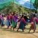 การเต้นจะคี ในเทศกาลกินวอหรือประเพณีปีใหม่ของชนเผ่า